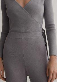 OYSHO - Kalhoty - grey - 4