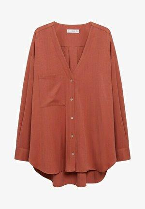 Blusa - rouge orangé
