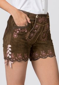 Stockerpoint - HARMONY - Leather trousers - brown - 5