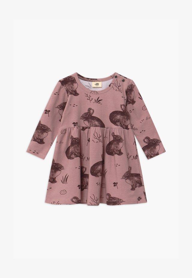 CUTE RABBITS BABY - Jerseyjurk - pink