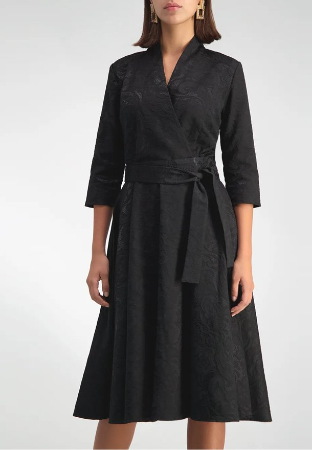 ANNA ETTER - JACQUELYN - Korte jurk - black