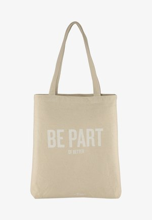 Tote bag - soft creme beige