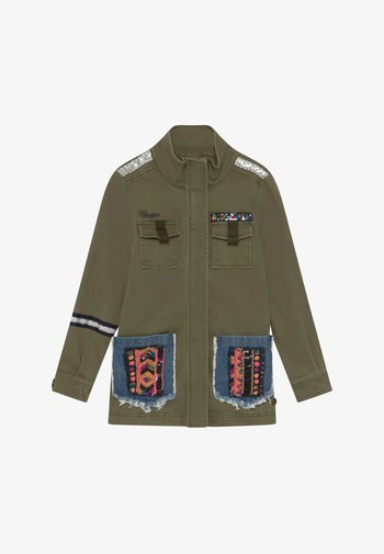TRINITA - Light jacket - army green
