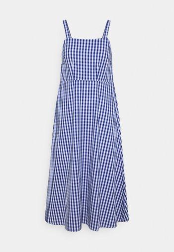 Vestido informal - white/blue