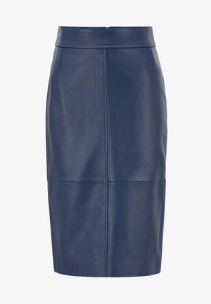 SELRITA - Pencil skirt - dark blue
