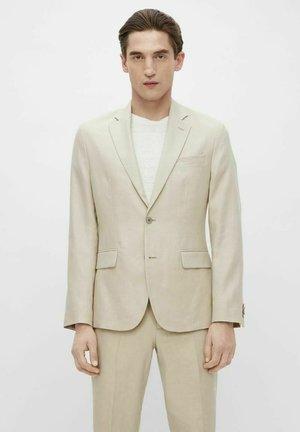 Veste de costume - sand grey