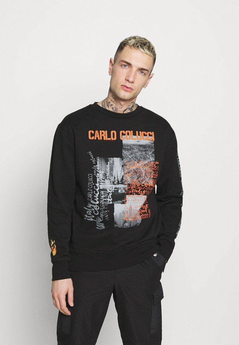 Carlo Colucci - FLAME - Sweatshirt - black