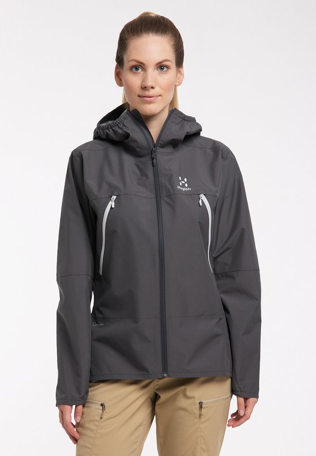 SPIRA - Hardshell jacket - magnetite
