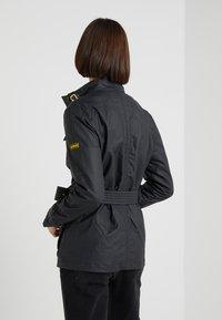 Barbour International - BEARINGS CASUAL - Summer jacket - black tonal - 2