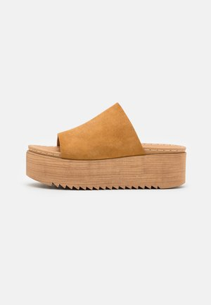 BALY - Heeled mules - brown