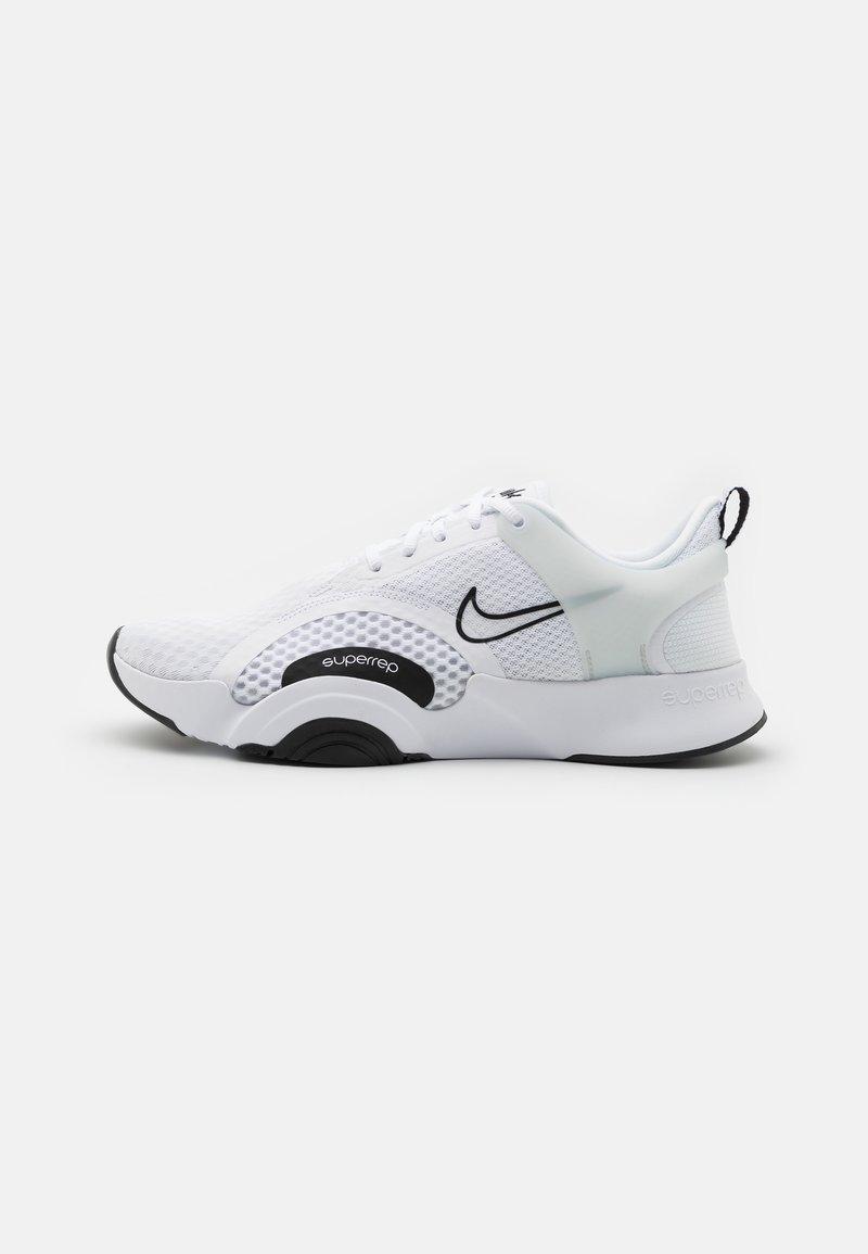 Nike Performance - SUPERREP GO 2 - Sports shoes - white/black/pure platinum