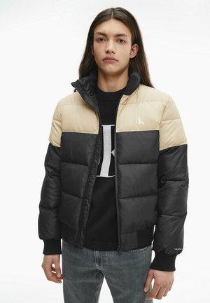 Winter jacket - ck black/travertine