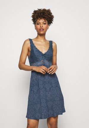 NORA PAISLEY - Nightie - dark denim