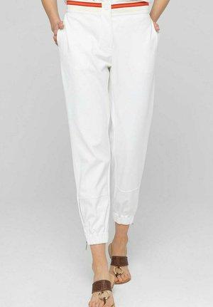 Spodnie materiałowe - biały