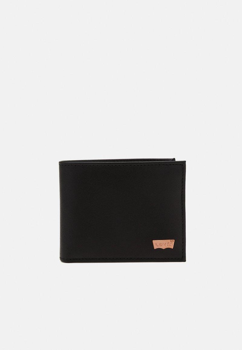 Levi's® - HUNTE BIFOLD BATWING - Portemonnee - regular black