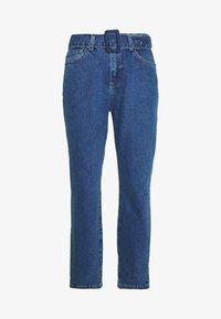 Noisy May - NMISABEL BELT MOM  - Jeans relaxed fit - medium blue denim - 3