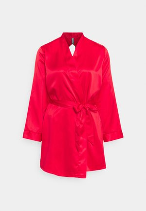 KIMONO OPEN BACK PANEL - Peignoir - red