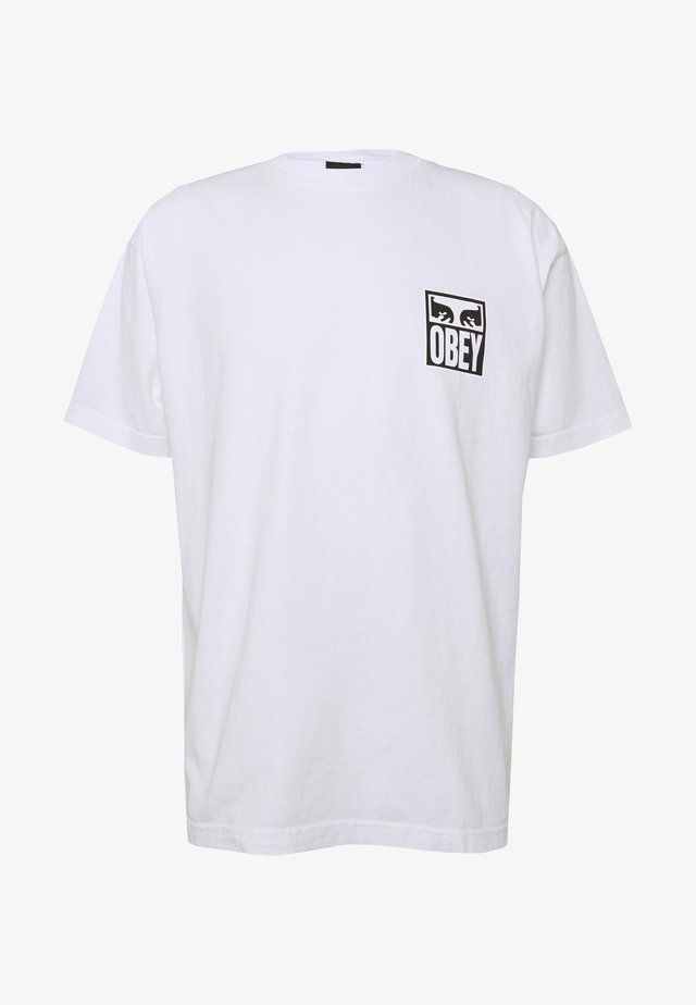 EYES ICON - T-shirt imprimé - white