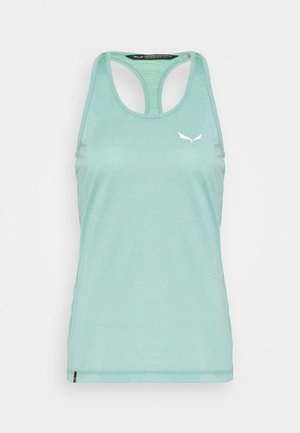 AGNER HYBRID DRI TANK - T-shirt sportiva - feldspar green