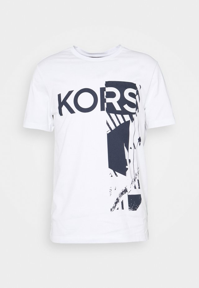 POCKET TEE - Print T-shirt - white