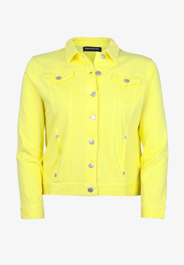 Denim jacket - citron