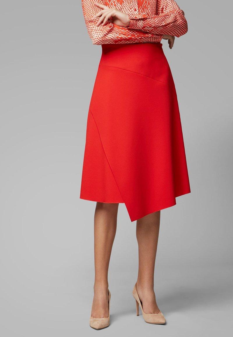 BOSS - VAMOKATO - A-line skirt - red