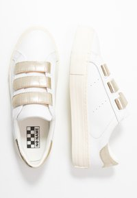 No Name - ARCADE STRAPS - Trainers - white/gold - 3