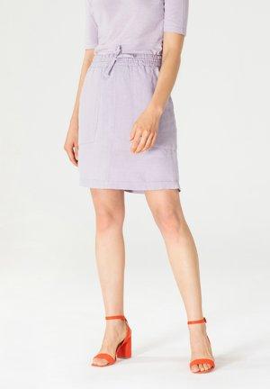 CAROLINA - A-lijn rok - pale lavender