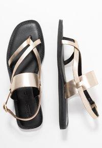 Shoe The Bear - TAO STRAP - T-bar sandals - gold - 3