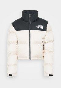 The North Face - NUPTSE CROP - Down jacket - pink tint - 4
