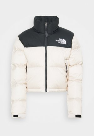 NUPTSE CROP - Down jacket - pink tint