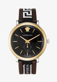 Versace Watches - CIRCLE GRECA EDITION - Watch - brown - 1