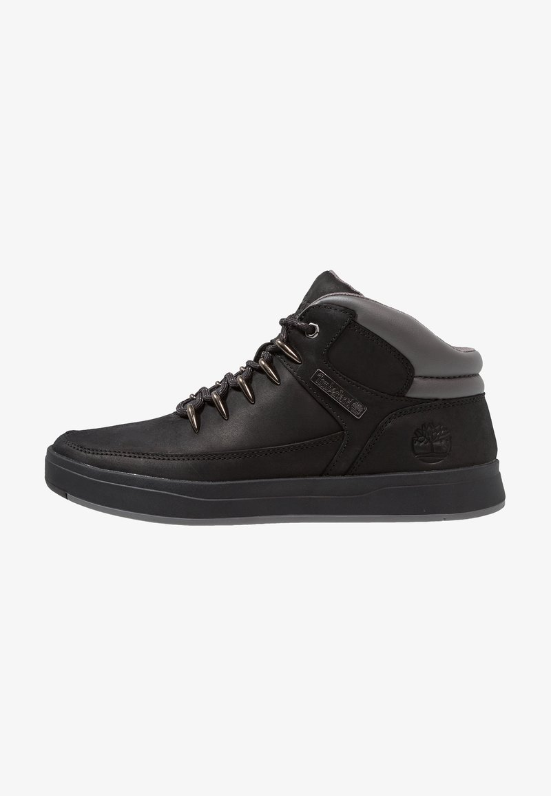 Timberland - DAVIS SQUARE HIKER - High-top trainers - black