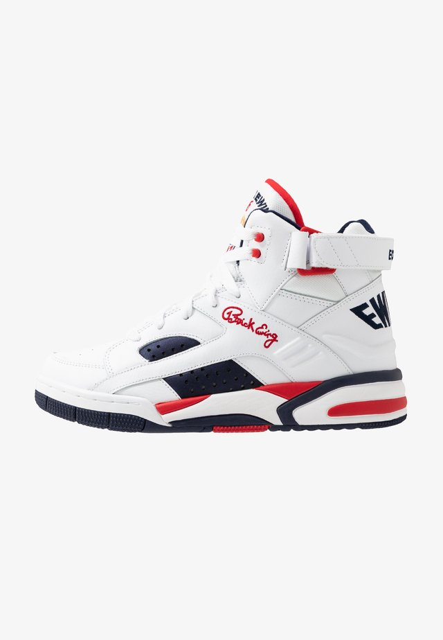 ECLIPSE  - High-top trainers - white/chinese red/black