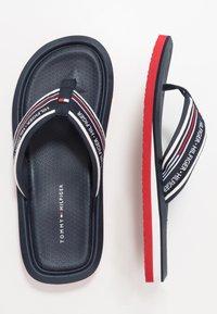 Tommy Hilfiger - CORPORATE COMFORT BEACH - T-bar sandals - white - 1