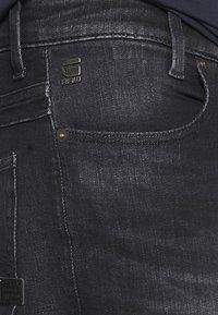 G-Star - D-STAQ 5-PKT SLIM - Slim fit jeans - elto black/medium aged faded - 4