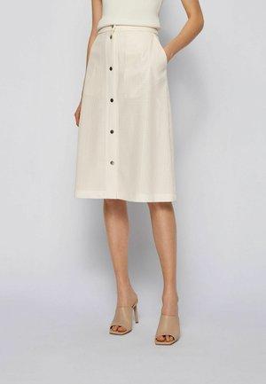 A-line skirt - natural