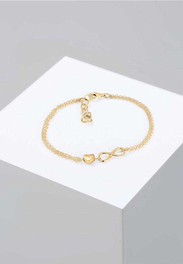 INFINITY  - Bracelet - gold coloured