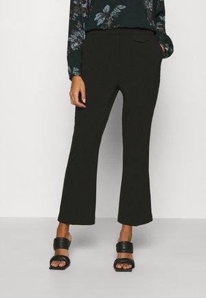 BYELISA KICK FLARE PANTS - Trousers - black