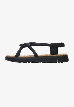 ORUGA - Sandals - schwarz