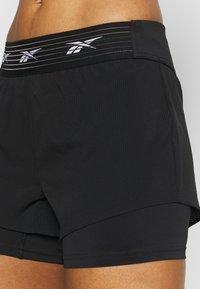 Reebok - EPIC SHORT  - Sports shorts - black - 3