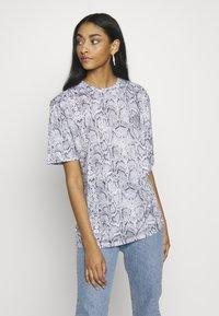 Zign - T-shirt z nadrukiem - grey - 3