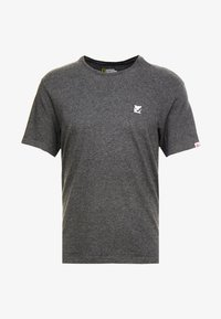 Element - CURRENT - Printtipaita - charcoal heather - 4