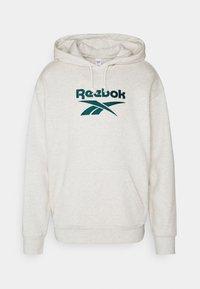Reebok Classic - VECTOR HOODIE - Hoodie - chalk melange - 0