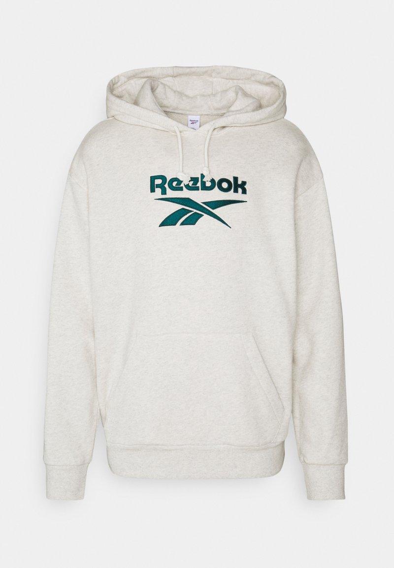 Reebok Classic - VECTOR HOODIE - Hoodie - chalk melange