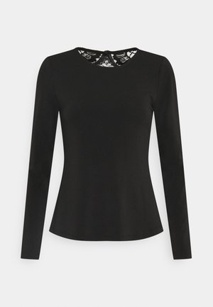 VMANA  - Long sleeved top - black