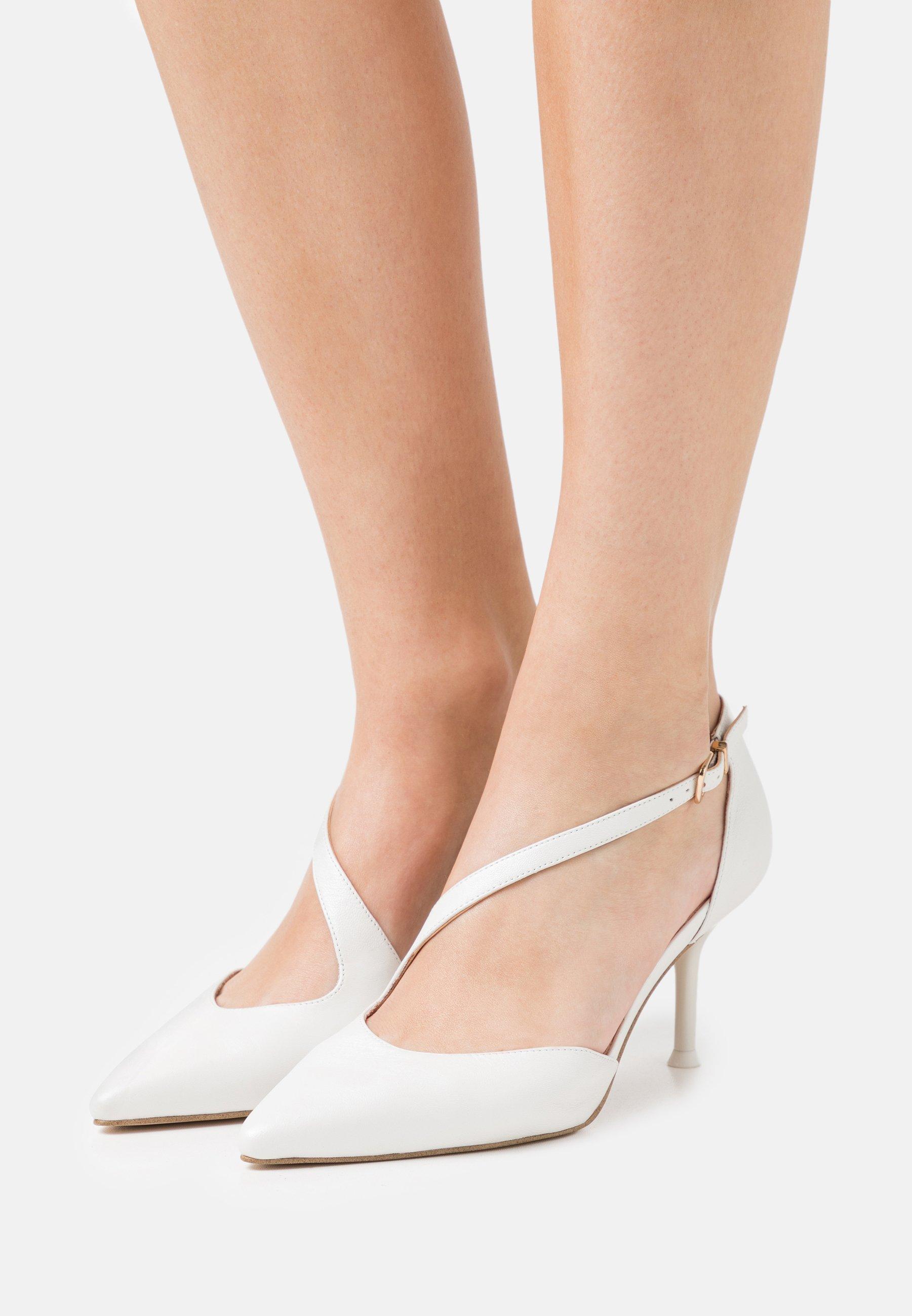 Women Classic heels - white