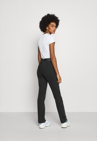 Weekday - WIRE ALMOST  - Straight leg jeans - almost black - 2