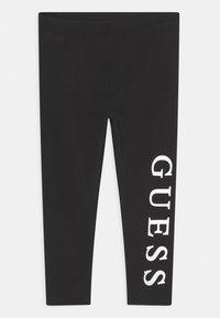 Guess - TODDLER CORE - Leggings - Trousers - jet black - 0