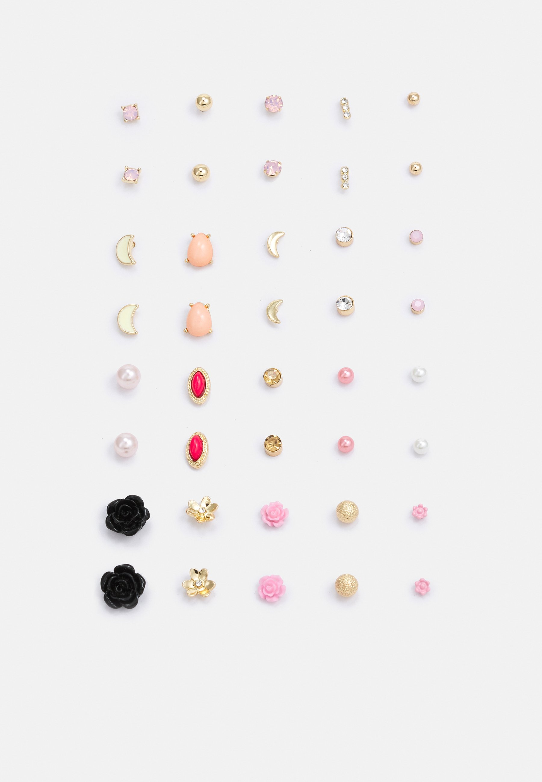 Women PCQIAN EARSTUDS 20 PACK - Earrings